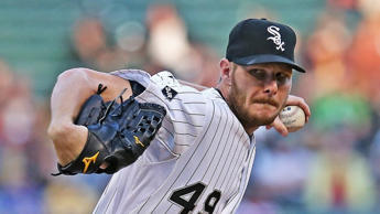CHICAGO, IL - MAY 22: Starting pitcher Chris Sale #49 of the Chicago White Sox delivers the ball against the New York Yankees at U.S. Cellular Field on May 22, 2014 in Chicago, Illinois. (Photo by Jonathan Daniel/Getty Images)