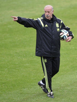 Del Bosque ready for the World Cup
