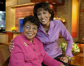 LUCIMARION ROBERTS, ROBIN ROBERTS: Hundreds pay respects to Robin Roberts' mother