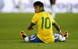 "Neymar eleito ""man of the match"""