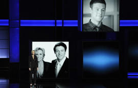 Jane Lynch, Cory Monteith: STARS REACT TO MONTEITH TRIBUTE