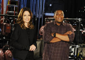 Lorne Michaels, Tina Fey reunite for 'SNL' opener