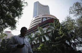 BSE Sensex up on positive economic data