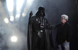 George Lucas, Darth Vader: Disney to make new 'Star Wars' films, buy Lucas co