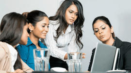 Indian business women: A job in IT in India is as appealing to women as to men
