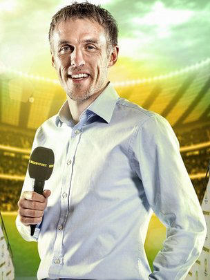 "Phil Neville will continue to play a ""key role"" in the BBC's World Cup coverage, the corporation said"