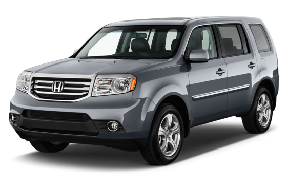 Slide 1 of 14: 2014 Honda Pilot