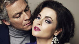 Dominic West and Helena Bonham Carter in Burton & Taylor: Helena Bonham Carter is nominated for Burton & Taylor, also up for best movie