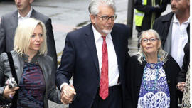 Rolf Harris: Mr Harris was in the witness box for a second day