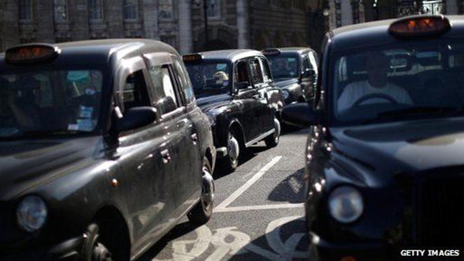 "Black taxis: London black cab drivers plan to cause ""chaos"" when they stage a protest in June"