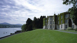 Plas Newydd was previously the National Trust's most polluting property, warmed entirely by an oil-fired boiler.