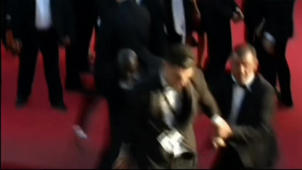 Brad Pitt hit at premiere: Prankster banned from red carpets