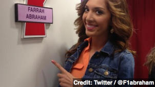 'Teen Mom' Star Farrah Abraham Checking Into Rehab