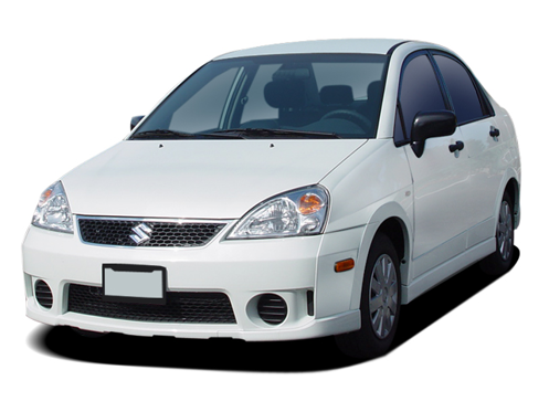 Slide 1 of 14: en-US 2005 Suzuki Aerio