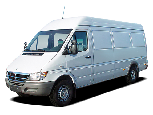 Slide 1 of 14: en-US 2004 Dodge Sprinter Van