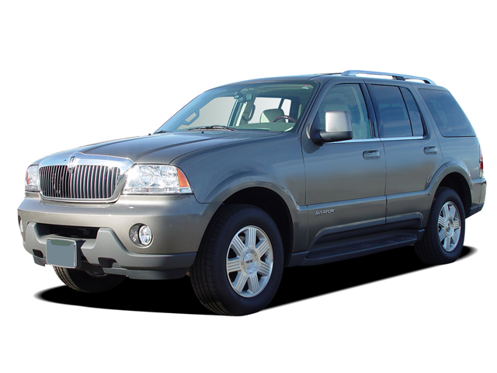 Slide 1 of 11: en-US 2004 Lincoln Aviator