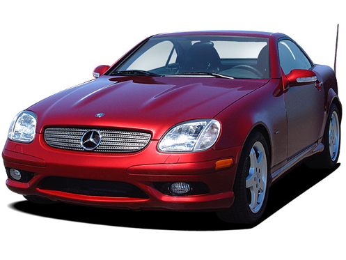 Slide 1 of 18: en-US 2004 Mercedes SLK-Class