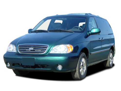 Slide 1 of 14: en-US 2003 Kia Sedona