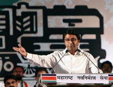 "MNS supremo said at his party rally: ""Terror attacks in Mumbai have grown due to increase in the population of the north Indians in the city."""