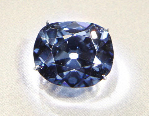 Don't know about you, but we'd be pretty happy with owning a whopping 45.52-caratdiamond worth $250 million USD - even if it carries a curse that has plagued such illustrious owners as King Louis XVI and Marie Antoinette. You have to take the rough with the smooth, right? And just steer clear of guillotines.The Hope Diamond is a billion-year-old deep blue walnut-sized beauty which is believed to have been discovered in India in the 17th century and, according to very specious legend, was stolen from the eye of a sculpture of the goddess Sita, the wife of Rama, the seventh Avatar of Vishnu. There are numerous unconfirmed tales of terrible misfortune that have befallen previous owners and wearers of the diamond, including its first owner being torn to pieces by wild dogs in Constantinople and a French actress murdered by her sweetheart. But, as the saying goes, any publicity is good publicity and it is likely that these stories werefabricated to enhance the stone's mystery and appeal.
