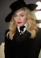 LOS ANGELES, CA - JANUARY 26:  Singer Madonna attends the 56th GRAMMY Awards at Staples Center on January 26, 2014 in Los Angeles, California.  (Photo by Jeff Vespa/WireImage)