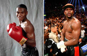 Floyd Mayweather, Jr.: 1990 and 2014