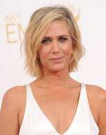 LOS ANGELES, CA - AUGUST 25: Actress Kristen Wiig arrives at the 66th Annual Primetime Emmy Awards at Nokia Theatre L.A. Live on August 25, 2014 in Los Angeles, California. (Photo by Axelle/Bauer-Griffin/FilmMagic)