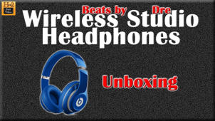 Beats Studio Wireless Headphones Unboxing