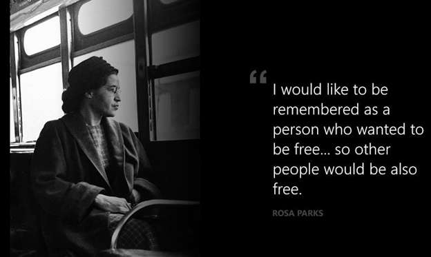 rosa parks inspirational essay Rosa parks and her significance to the civil rights the rosa parks and her significance to the american civil or get inspiration from these free essays.