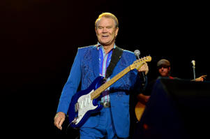 BETHLEHEM, PA - OCTOBER 26:  Glen Campbell performs at the Sands Event Center on October 26, 2012 in Bethlehem, Pennsylvania. Lisa Lake/Getty Images