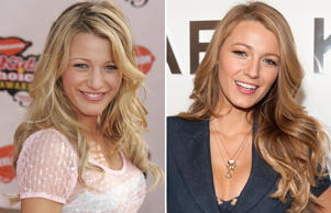 Blake Lively: 2005 and 2014