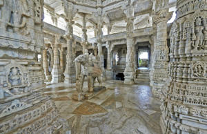 The wondrous Ranakpur Temple in Rajasthan
