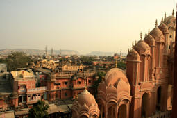 25. Soak in the Pink City from atop the iconic Hawa Mahal — it's a Jaipur must-visit