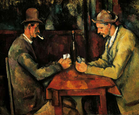 The Card Players by Paul Cezanne (US $274 million)
