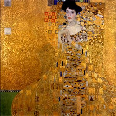 Portrait of Adele Bloch-Bauer I by Gustav Klimt (US $158 million)