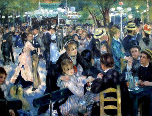Bal du moulin de la Galette by Pierre-Auguste Renoir - £94m