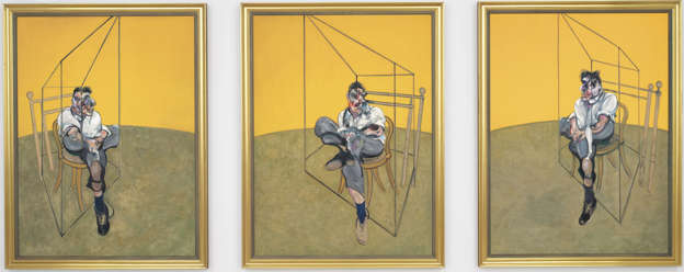 Three Studies of Lucian Freud by Francis Bacon - £95m
