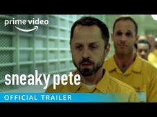 Watch new episodes on January 13 on Amazon Prime Video. » SUBSCRIBE: http://bit.ly/PrimeVideoSubscribe » Watch Sneaky Pete now, exclusively with your Prime membership: http://bit.ly/SneakyPetePrimeVideo  About Sneaky Pete: From the creator of Justified and Executive Producer Bryan Cranston comes an exciting new series about a con-man, Marius (Giovanni Ribisi), on the run from a vicious gangster. Marius hides by assuming the identity of his prison cellmate, Pete, and takes cover with Pete's estranged family – a colorful group (headed by Margo Martindale) with well-guarded and dangerous secrets of their own.  Get More Prime Video:  To watch outside of the US, go to http://bit.ly/VisitPrimeVideo Watch Now: http://bit.ly/WatchMorePrimeVideo Facebook: http://bit.ly/PrimeVideoFB Twitter: http://bit.ly/PrimeVideoTW Instagram: http://bit.ly/AmazonPrimeVideoIG  About Prime Video: Want to watch it now? We've got it. This week's newest movies, last night's TV shows, classic favorites, and more are available to watch instantly, plus all your videos are stored in Your Video Library. Over 150,000 movies and TV episodes, including thousands for Amazon Prime members at no additional cost.  Sneaky Pete - Season 1 Official Trailer | Prime Video https://youtu.be/KCM-I4j-Rv4  Prime Video https://www.youtube.com/PrimeVideo