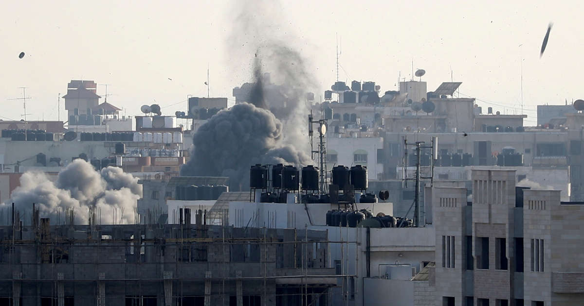 Palestinians say Gaza ceasefire reached with Israel