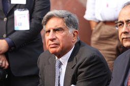 Chairman, Tata Sons, Ratan Tata attends the inaugural function at the ninth Auto Expo on January 10, 2008 in New Delhi