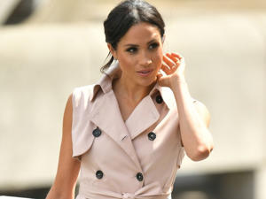 The Duchess of Sussex arrived with her husband