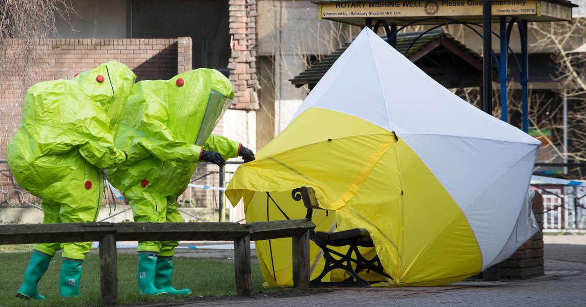 Skripal Novichok poisoning suspects identified -Press Association