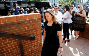Canadian Foreign Affairs Minister Chrystia Freeland arrives at the Office of the United States Trade Representative, Wednesday, Sept. 19, 2018, in Washington.