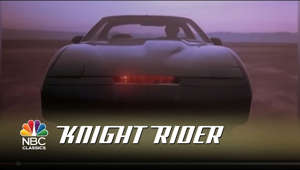 Kitt, one of the most well-known cars, returns in this original intro from the classic NBC show Knight Rider. » Subscribe for More: http://bit.ly/NBCclassics » Watch Full Episodes of Knight Rider: http://www.nbc.com/classic-tv/knight-rider-classic/video  Get more NBC Classics: Full Episodes: http://www.nbc.com/classic-tv Follow NBC: http://Twitter.com/nbcclassics NBC Tumblr: http://nbcclassics.tumblr.com  ABOUT KNIGHT RIDER: David Hasselhoff stars as Michael Knight in his breakout role as a crime fighter who awakens from a serious injury with a new identity. In the series premiere, Las Vegas police detective Michael Arthur Long is shot in the face and left for dead before being rescued by dying millionaire Wilton Knight, the chairman of Knight Industries and creator of the public justice organization, the Foundation for Law and Government (FLAG). Wilton makes Michael the primary agent for FLAG, giving him a new identity via plastic surgery and the name Michael Knight, plus an arsenal of equipment to continue his crime-fighting work. Principle among this equipment is the Knight Industries Two Thousand, or KITT, a heavily modified and artificially intelligent Pontiac Firebird Trans Am with the ability to talk, fire weapons and travel at high speed. Michael and KITT work together to take down criminals who operate above the law.  Get more NBC: Full Episodes: http://NBC.com/video/library/full-episodes/ NBC YouTube: http://www.youtube.com/nbc Follow NBC: http://Twitter.com/NBC Like NBC: http://Facebook.com/NBC NBC Tumblr: http://NBCtv.tumblr.com/ NBC Pinterest: http://Pinterest.com/NBCtv/ NBC Google+: https://plus.google.com/+NBC YouTube: http://www.youtube.com/nbc NBC Instagram: http://instagram.com/nbc  Knight Rider - Original Show Intro | NBC Classics http://youtube.com/nbcclassics