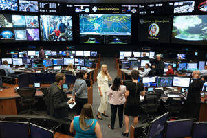 White House Senior Advisor Ivanka Trump tours the Johnson Space Center in Houston, Texas, U.S. September 20, 2018.  REUTERS/Loren Elliott