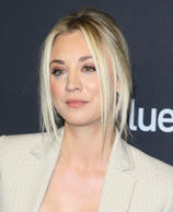 Kaley Cuoco attends the 2018 PaleyFest Los Angeles