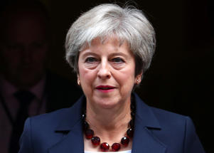 Theresa May has accused the European Union of not treating the UK with respect.