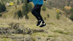 a man jumping in the air: Get Ready for Fall Running With These Simple and Easy Tips