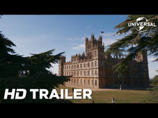 a tree in front of Highclere Castle: In cinemas September 13 Follow us on Facebook at @DowntonAbbeyUK Find us on Instagram at @UniversalPicturesUK Follow us on Twitter at @UniversalUK http://www.downtonabbeyfilm.co.uk    Genre: Historical period drama                       Director: Michael Engler  Writer: Julian Fellowes         Producers: Gareth Neame, Liz Trubridge, Julian Fellowes  Cast: Hugh Bonneville, Laura Carmichael, Jim Carter, Brendan Coyle, Michelle Dockery, Kevin Doyle, Joanne Froggatt, Matthew Goode, Harry Hadden-Paton, David Haig, Geraldine James, Robert James-Collier, Simon Jones, Allen Leech, Phyllis Logan, Elizabeth McGovern, Sophie McShera, Tuppence Middleton, Stephen Campbell Moore, Lesley Nicol, Kate Phillips, Maggie Smith, Imelda Staunton, Penelope Wilton  The television series Downton Abbey followed the lives of the Crawley family and the servants who worked for them at the turn of the 20th century in an Edwardian English country house.  Over its 6 seasons, the series garnered 3 Golden Globe Awards, 15 Primetime Emmy Awards, 69 Emmy nominations in total, making Downton Abbey the most nominated non-US television show in the history of the Emmys - even earning a Special BAFTA award and a Guinness World Record for the highest critically rated TV show along the way.