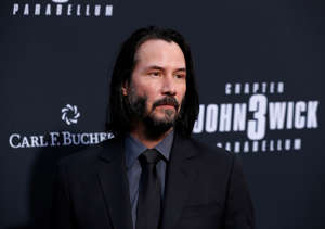 "Keanu Reeves arrives for a screening of the movie ""John Wick: Chapter 3 - Parabellum"" in Los Angeles, California, U.S. May 15, 2019. REUTERS/Mario Anzuoni"